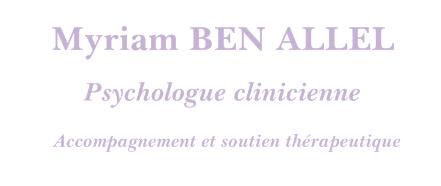 Myriam BEN ALLEL – Psychologue pour enfant, adolescent, adulte à Beauvais